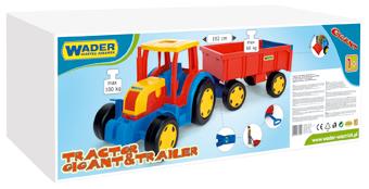 Picture of Wader трактор с прицепом Art. 66100