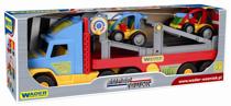 Attēls Wader kravas mašīna ar 2 automobiļiem Art. 36630