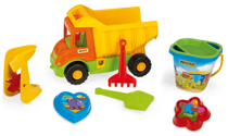 Изображение Wader грузовик с набором для песка Art. 70340