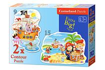 Attēls Castorland puzle Art. B-020010