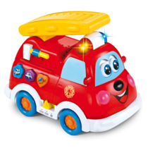 Attēls Baby Mix ugunsdzēsēju mašīna Art. PL188911