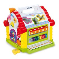 Изображение Baby Mix развивающий домик Art. PLC-56064