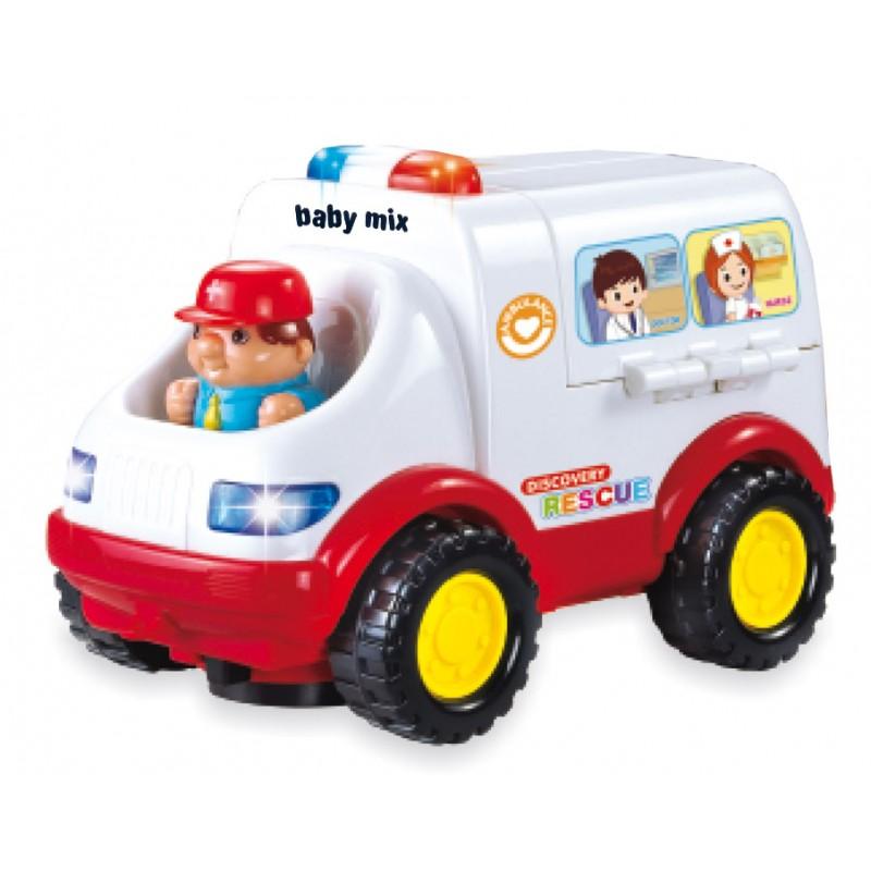 Picture of Baby Mix ātrās palīdzības mašīna Art. PL-058880