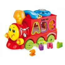 Attēls Baby Mix vilciens-figūriņu šķirotājs Art. PL-039417
