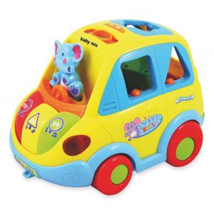 Picture of Baby Mix autobuss-figūriņu šķirotājs Art. PL-086686