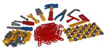 Изображение Набор инструментов для детей (132 элемента)