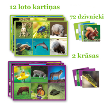 Picture of Lotto: 72 animals