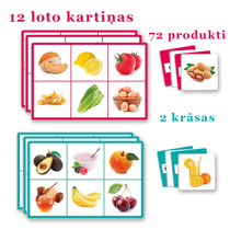 Picture of Lotto: 72 food items
