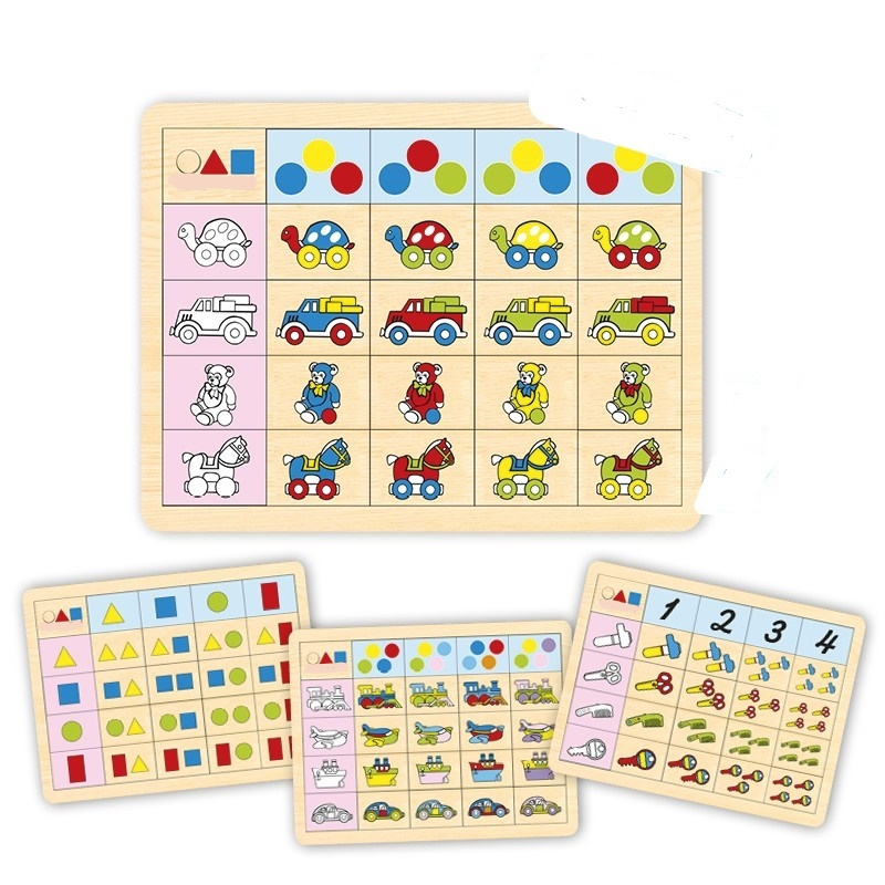 Picture of Set logic game 2 (4 units)