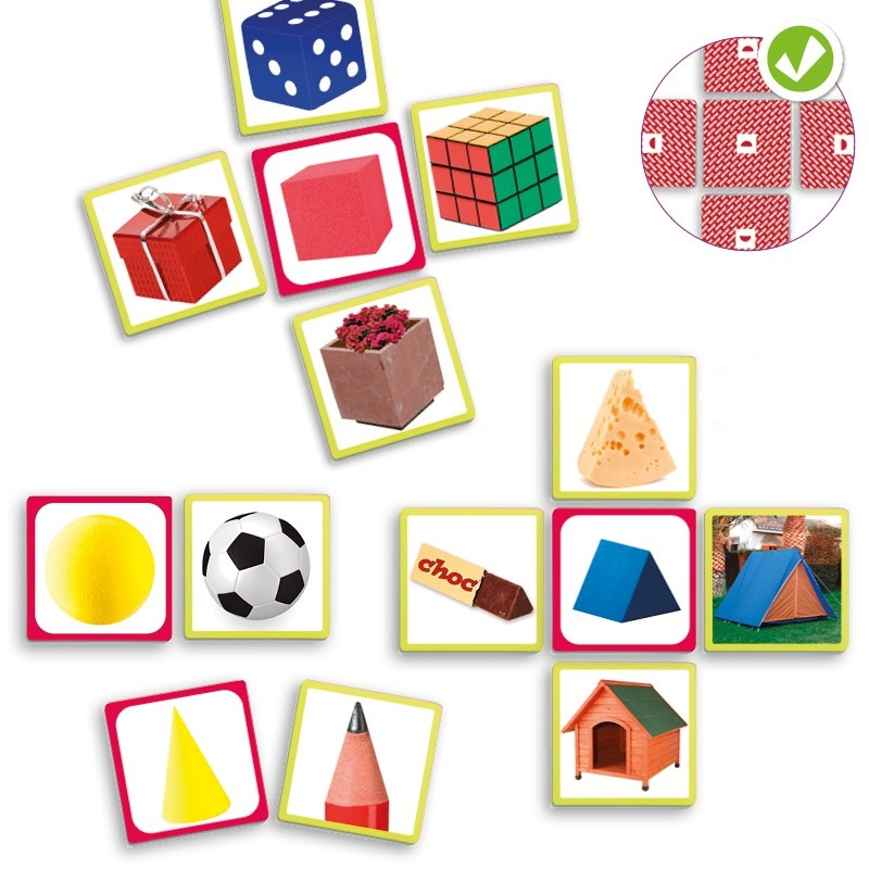 Picture of  Discover geometric shapes in everyday life
