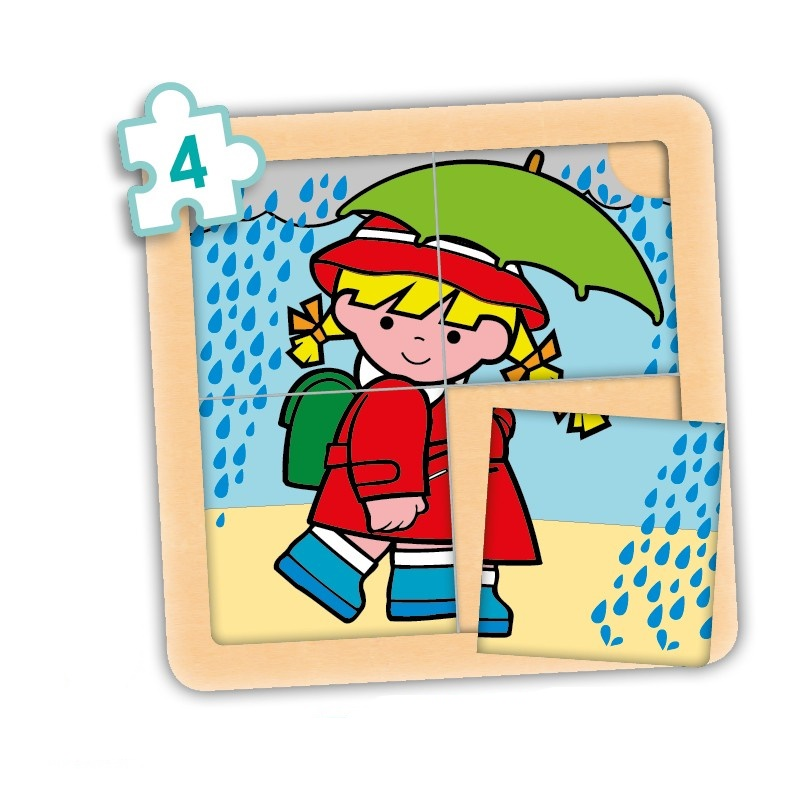 Picture of Set 4-piece puzzles (4 units)