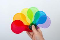 Изображение Полупрозрачные цветные лопатки (6 шт)