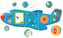 Picture of Activity Wall Panels - Aeroplane