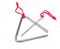 Picture of Metal Triangle - Childrens Musical Instrument